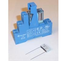 Přídavné relé Finder 12V DC s montážní paticí pro GSM Exeo