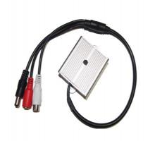CP-PR-84 Mikrofon pro CCTV s konektory