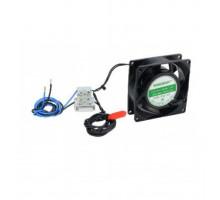 CP-PR-104 Ventilátor s termostatem 45C° pro uzamykatelné skříňky na DVR / NVR