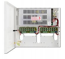 CP-PR-107 -  Bezpečnostní zdroj pro nezávislé napájení šestnácti kamer