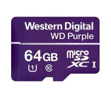 CP-PR-93 MicroSDXC paměťová karta Western Digital PURPLE - 64GB