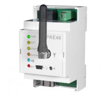 PRE40 - Převodník RS232 - Ethernet/WiFi na DIN