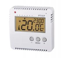 PT14-P - Prostorový prognam. termostat  pro ovládání el. topení