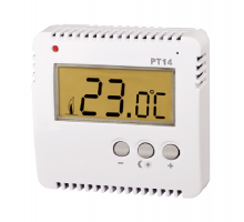 PT14 - Prostorový termostat  pro ovládání el. topení