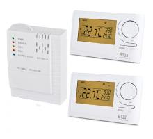 Set bezdrátových termostatů BT220 s přijímačem BT002-A - 2 topné okruhy
