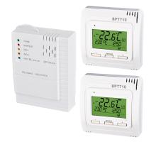 Set bezdrátových termostatů BT710 s přijímačem BT002-A - 2 topné okruhy