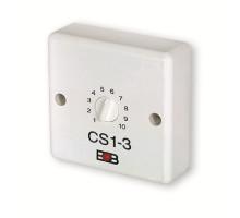 CS1-3 Časový spínač pro osvětlení schodiště bez možnosti blokování