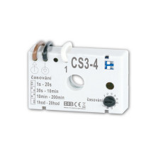 CS3-4 Časový spínač pro osvětlení schodiště - automat v zapojení bez nulového vod.