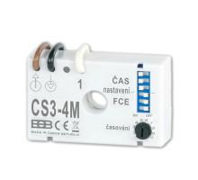 CS3-4M Časový spínač pro ventilátory BEZ NULOVÉHO vodiče s nastav. OSMI FUNKCÍ