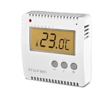 PT14-P WiFi - Prostorový WiFi termostat  pro ovládání el. topení
