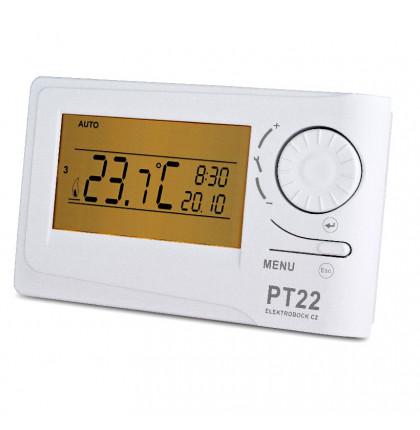 PT22 - Prostorový termostat - Elektrobock