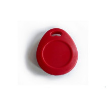 RFID přívěšek PC-02 červený, kvalitní a mechanicky odolný