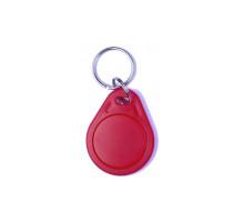 RFID klíčenka 125kHz, základní plastová, červená
