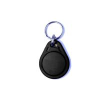 RFID klíčenka 125kHz, základní plastová, černá
