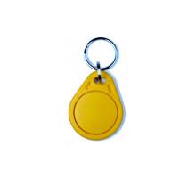 RFID klíčenka 125kHz, základní plastová, žlutá