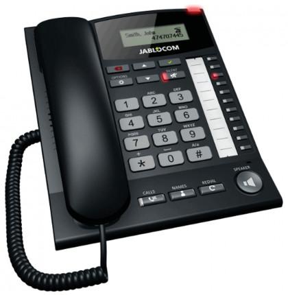 Chytrý stolní GSM telefon - MaxiMobil GDP-06i Essence s anténním vstupem pro externí anténu Jablotron
