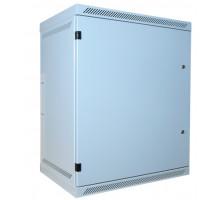 LEXI-Net rozvaděč 15U nástěný 15U,400mm, plné dveře 2x zámek