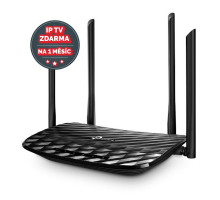 WiFi router TP-Link Archer C6 AC1200 dual AP, 4x GLAN/ 300Mbps 2,4/ 867Mbps 5GHz, OneMesh