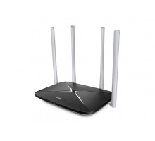WiFi router TP-Link MERCUSYS AC12 AC1200 dual AP/router, 3x LAN, 1x WAN/ 300Mbps 2,4/ 433Mbps 5GHz