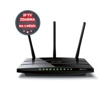 WiFi router TP-Link Archer C1200 AC1200 dual AP, 4x GLAN, 2x USB/ 300Mbps 2,4/ 867Mbps 5GHz