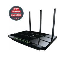 WiFi router TP-Link Archer C7 AC1750 dual AP, 4x GLAN, 1x USB/ 450Mbps 2,4/ 1300Mbps 5GHz