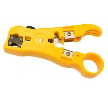 Stripovací nástroj na UTP/FLAT/KOAX RG 6/59