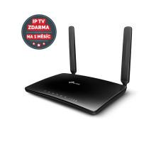 Modem TP-Link Archer MR400 LTE s WiFi routerem, AC1350, 3x LAN, 1x WAN, 1x slot SIM/ 450/867Mbps