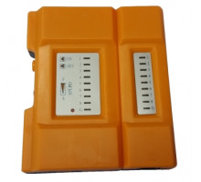 Tester datových a telefonních kabelů ledkový RJ11/12, RJ45