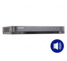 DS-7204HQHI-K1(S) 4-k  THD do4Mpx  Hybridní režim IP+ THD  audio pokoaxu  H.265+  …