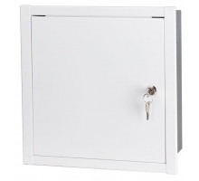 Lexi-Net Basic univerzální skříň 300 x 300 x 120 mm, pod omítku, bílá