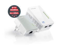 Powerline ethernet TP-Link TL-WPA4220 KIT 500Mbps, WiFi, set TL-WPA4220 a TL-PA4010