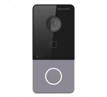 IP dveřní interkom, 1-tlač., plast, čtečka karet, 2MPx kamera, WiFi