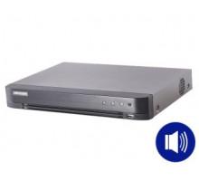 DS-7204HTHI-K1(S) 4-k THD do8Mpx  Hybridní režim IP+ THD  audio pokoaxu  H.265+  1x…