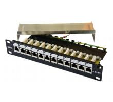 LEXI-Net Patch panel EXCLUSIVE 12 ports CAT 6 FTP 10