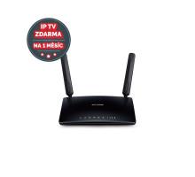 Modem TP-Link Archer MR200 LTE s WiFi routerem, AC750, 3x LAN, 1x WAN, 1x slot SIM/ 300/433Mbps