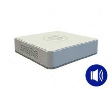 DS-7104HQHI-K1(S) 4-k  THD do4Mpx  Hybridní režim IP+ THD  audio pokoaxu  H.265+  …