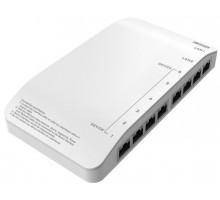 DS-KAD606-P Video/Audio Distributor až pro 6 zařízení + napájecí zdroj