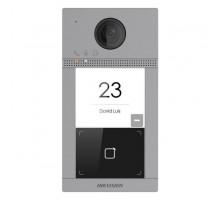 IP dveřní interkom 1-tlač., čtečka karet, 2MPx kamera, WiFi, zápustný