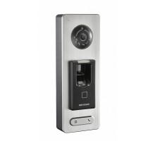 DS-K1T501SF IP interkom/vstupní terminál se čtečkou Mifare karet a otisků prstů
