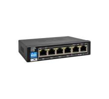 BCS-B-SP04G02G Switch -6portový switch, 10/100/1000Mb/s, 4xPOE, max. výkon 60W,…