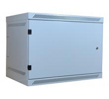 LEXI-Net rozvaděč 9U nástěný 9U, hl. 400mm, plné dveře, zámek