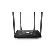 WiFi router TP-Link MERCUSYS AC12G AC1200 dual AP/router, 3x GLAN, 1xG WAN/ 300Mbps 2,4/ 867Mbps 5GHz