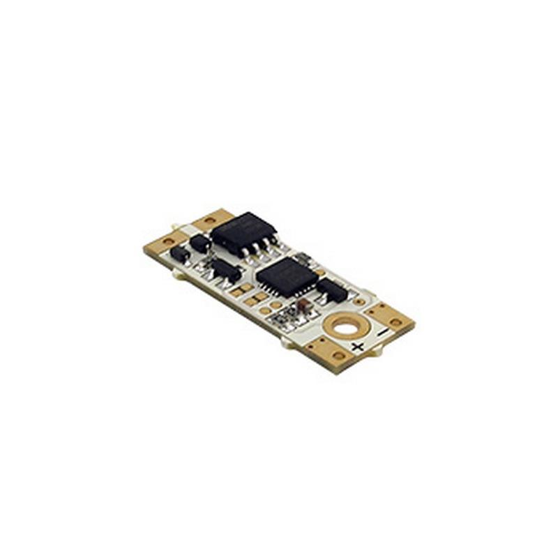 Stmívač pro LED pásky 12/24V, 7,5A, dotykový na profilu, modrá LED