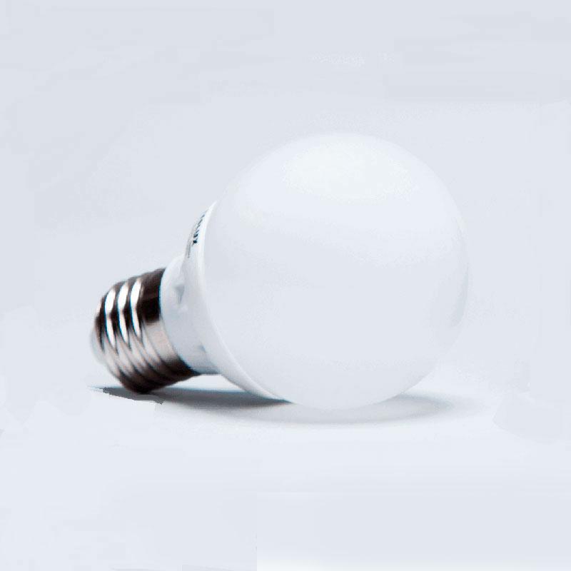LED žárovka E27 B60 teplá bílá 5,5W 470Lm -TESLUX