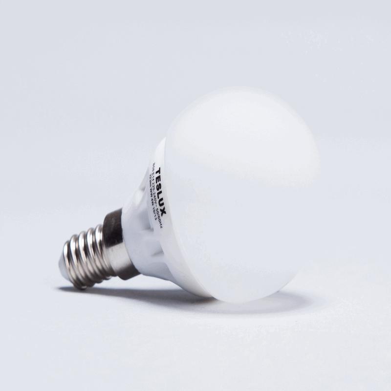 LED žárovka E14 B50 teplá bílá 4W 323Lm - TESLUX