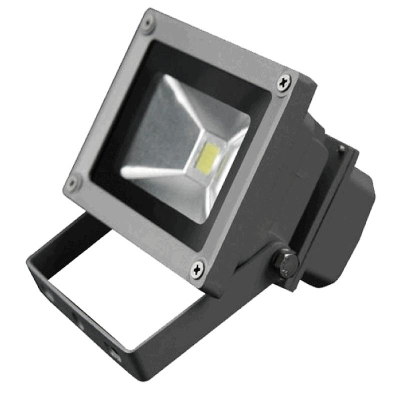 Venkovní LED reflektor 10W šedý - FK technics