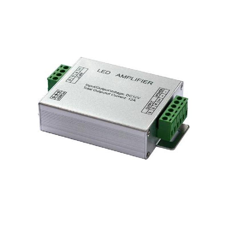 Zesilovač signálu pro RGB LED pásky 12/24V, 3x4A