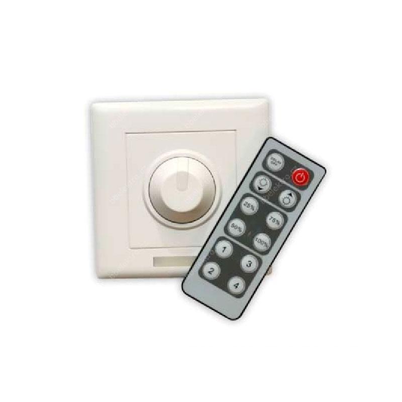 Stmívač pro jednobarevné LED pásky, IR ovládání LexiLED