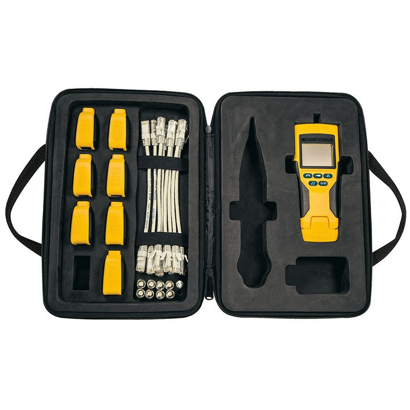 LAN TESTER - VDV Scout® Pro 2 Tester and Test-n-Map Remote Kit - KLEIN TOOLS