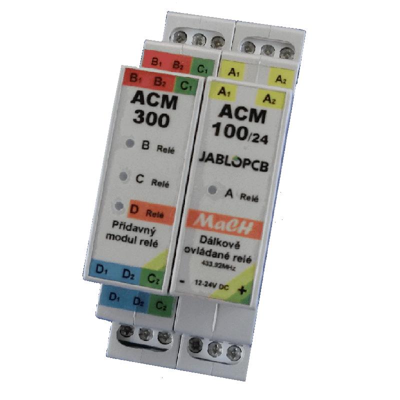 SADA ACM-100/24 +ACM-300 + 2ks dálkového ovládače ACB-001